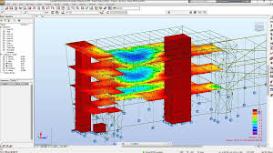 Structural analysis with Autodesk Robot Structural analysis© software